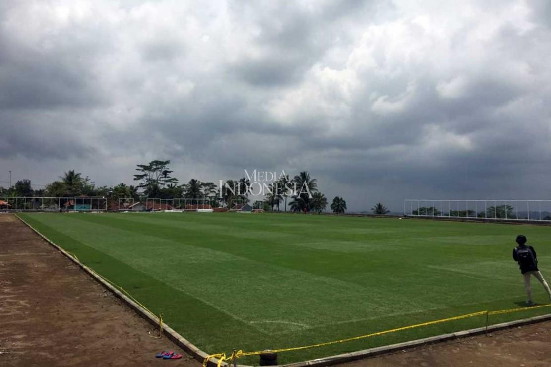 Lapangan Desa di Tasikmalaya Ini Berstandar FIFA