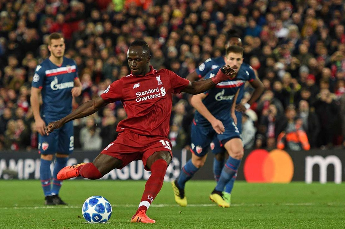 Liverpool Lumat Red Star Belgrade 4-0