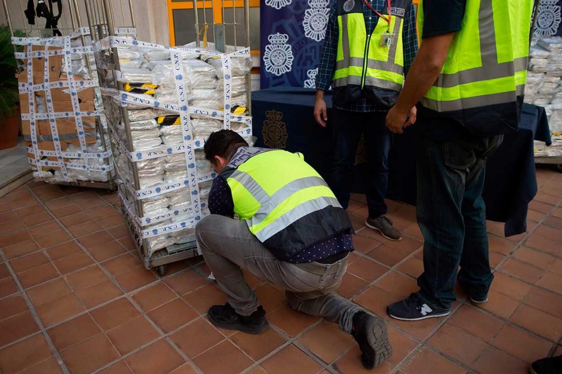 Polisi Spanyol Sita 6 Ton Kokain