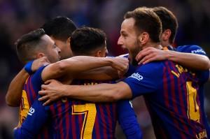 Raihan 3 poin ini membuat Barcelona memuncaki klasemen sementara dengan 21 poin disusul Atletico Madrid di posisi ke-2 terpaut 2 angka. Afp Photo/Gabriel Bouys