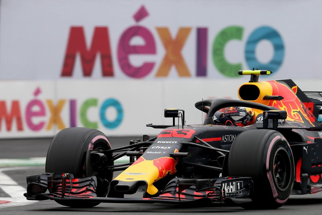 Pebalap Red Bull Racing, Max Verstappen, tampil sebagai yang tercepat pada balapan yang berlangsung di Autódromo Hermanos Rodríguez itu. Afp Photo/Charles Coates