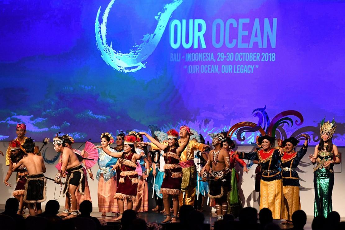 Jokowi Buka Our Ocean Conference 2018 di Bali