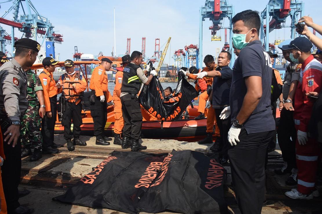 Pesawat Lion Air bernomor penerbangan JT 610 rute Jakarta-Pangkal Pinang yang sebelumnya mengalami