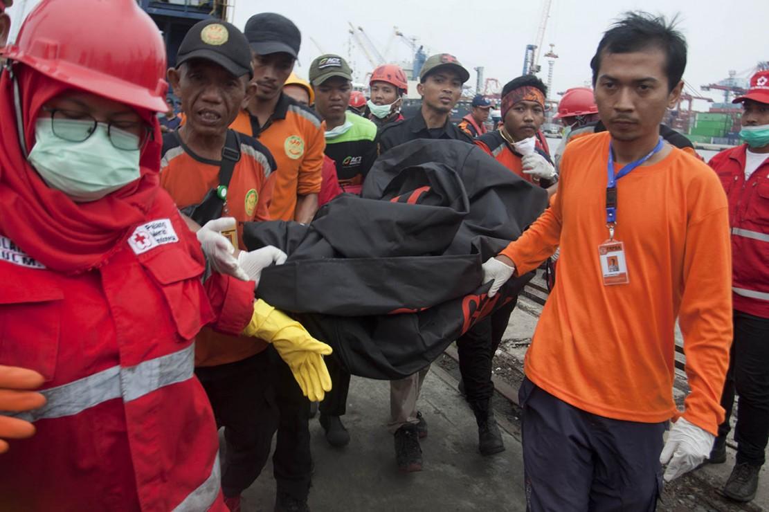34 Kantong Jenazah Sudah Diangkut dari Perairan Karawang