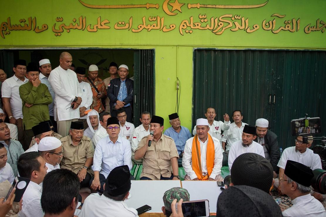 Prabowo Sapa Warga Jawa Tengah