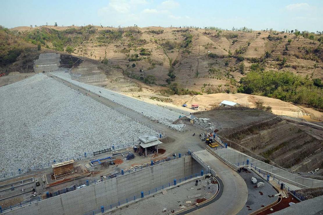 Pembangunan Bendungan Logung Kudus Capai 99 Persen