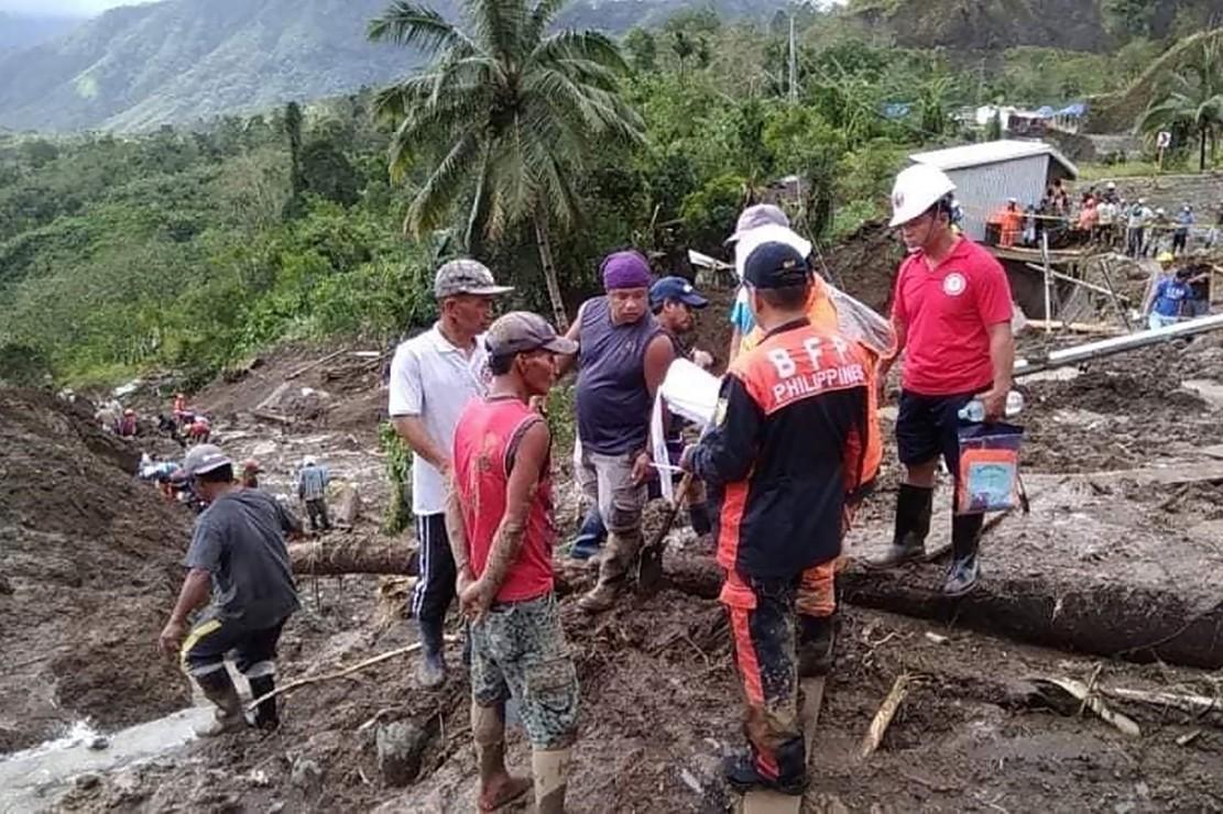 Topan Yutu Picu Longsor di Filipina, Puluhan Orang Tertimbun