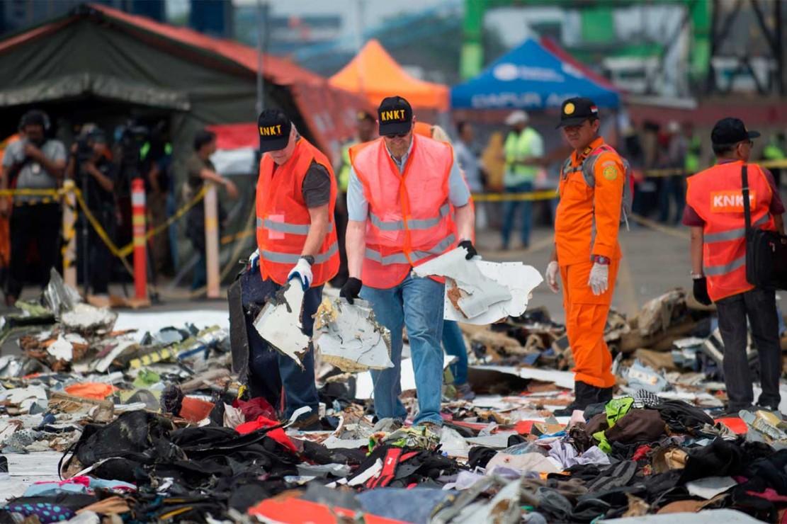 NTSB Bantu Investigasi Penyebab Jatuhnya Lion Air