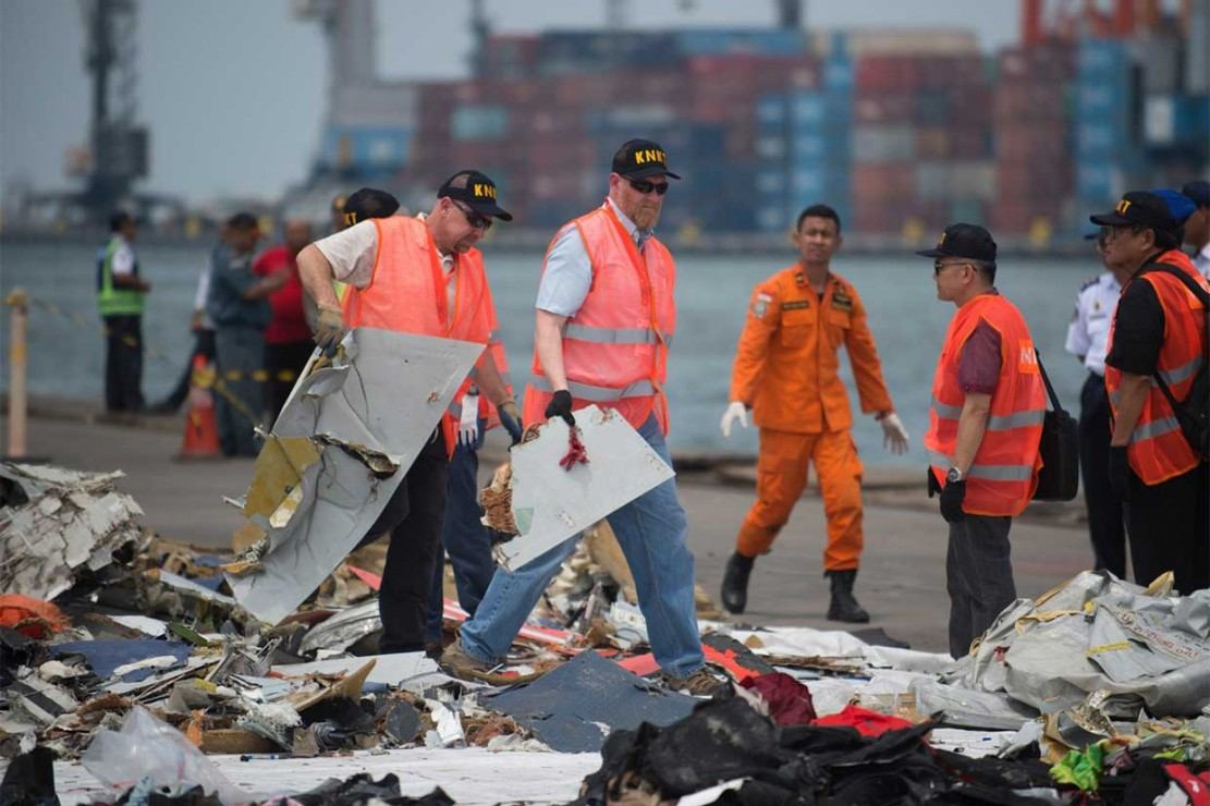 Pesawat Lion Air bernomor registrasi PK-LQP dengan nomor penerbangan JT 610 yang jatuh di Perairan Karawang pada Senin, 29 Oktober 2018 adalah jenis Boeing 737 Max8.