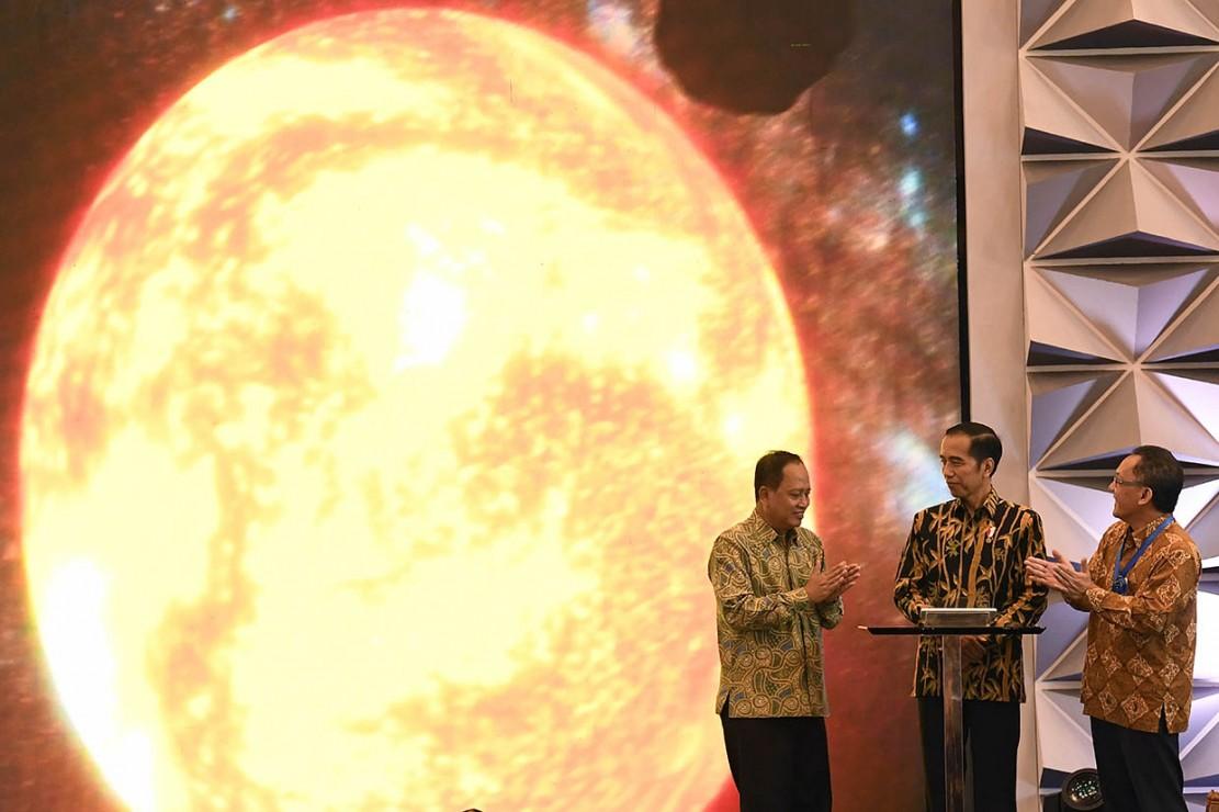 Jokowi Buka Indonesia Science Expo 2018