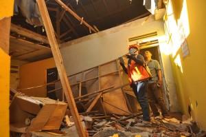 Pemerintah Kota Palu melalui Dinas Pekerjaan Umum (PU) setempat melakukan pendataan terhadap rumah warga  yang mengalami kerusakan pascagempa, tsunami dan pencairan tanah (likuifaksi). Penilaian kerusakan dibagi menjadi dua kategori yakni rusak sedang atau ringan dan rusak berat.