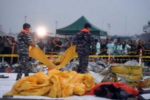 Hingga hari keempat pencarian, Tim Basarnas telah mengumpulkan 65 kantong jenazah.