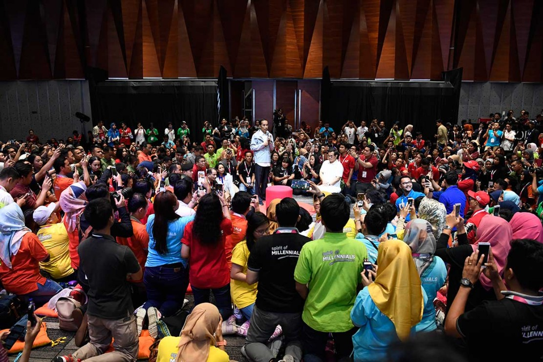 Jokowi Minta BUMN Gerak Cepat Adaptasi Perubahan