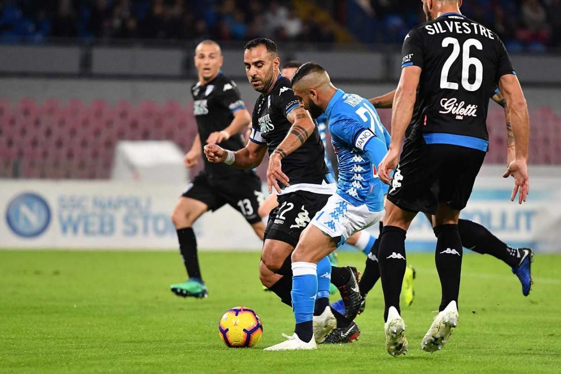 Mertens Hattrick, Napoli Hajar Empoli 5-1
