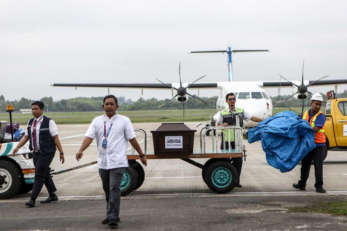 Jenazah Korban Lion Air Tiba di Palembang
