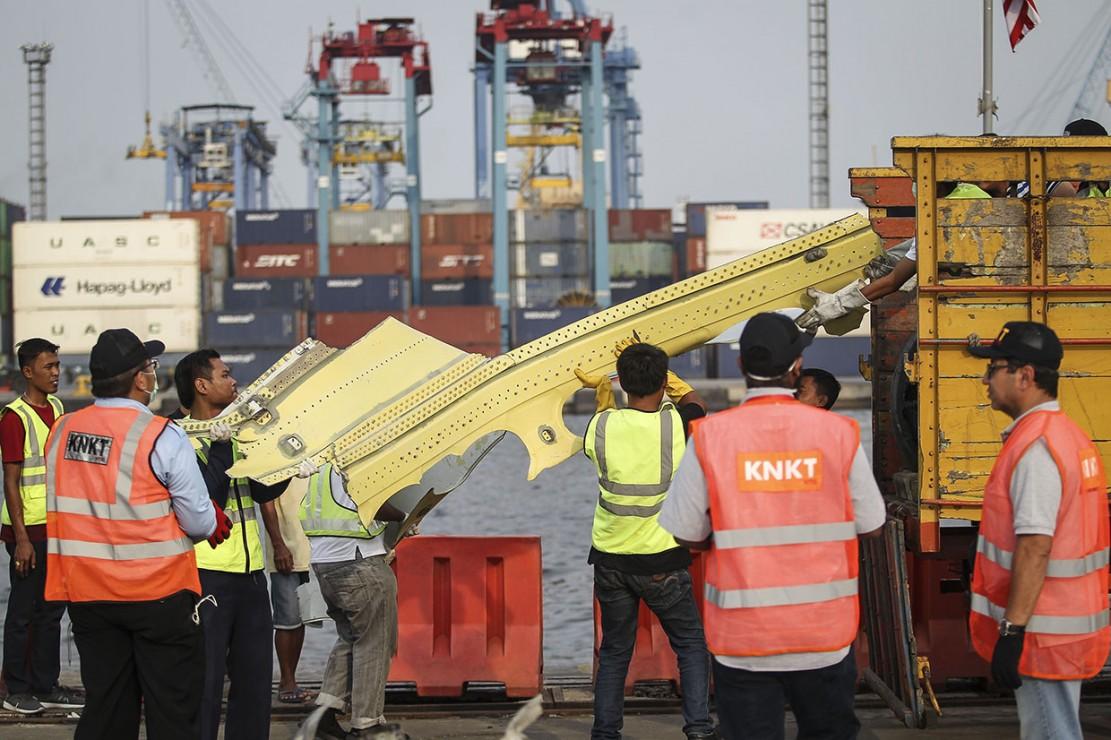 KNKT Cek Roda dan Turbin Mesin Lion Air PK-LQP