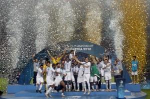 Ini menjadi gelar ketiga Arab Saudi setelah setelah sebelumnya menjadi yang terbaik pada edisi 1986 dan 1992. Sementara Korsel gagal menambah koleksi juara yang sudah mengemas 12 trofi di ajang ini.