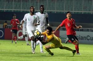 Dua gol Arab Saudi dicetak oleh Turki Al-Ammar (2') dan Khalid Al-Ghannam (22'). Sementara Korea Selatan hanya bisa membalas lewat gol penalti Cho Young-Wook di menit ke-64.