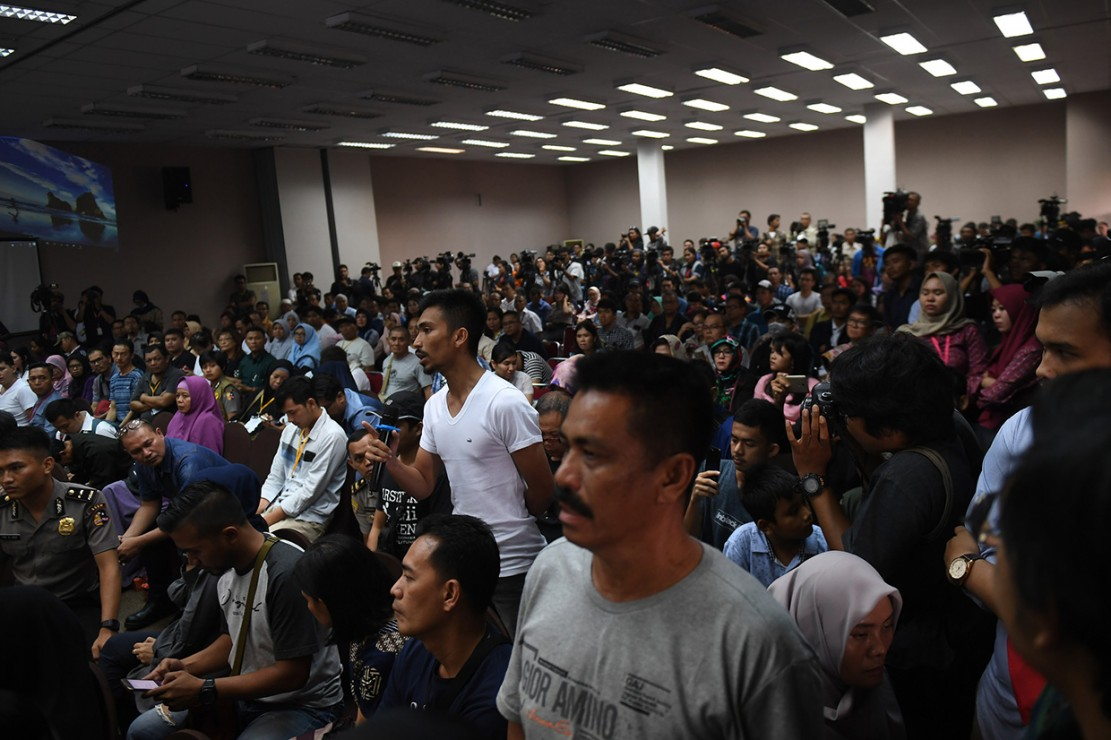 Keluarga Korban Lion Air Tolak Rencana Tabur Bunga