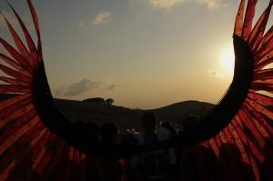 Ada yang istimewa dari festival tahun ini yakni dipentaskannya tarian Antama, sebuah tarian yang mengisahkan tentang perburuan hewan yang sudah menjadi budaya dari masyarakat di Rai Belu.