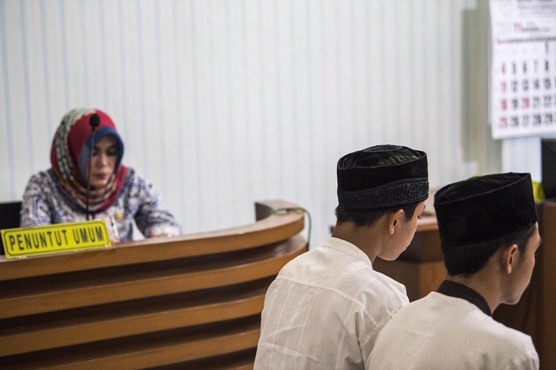 Empat Pengeroyok Haringga Divonis 3-4 Tahun Penjara