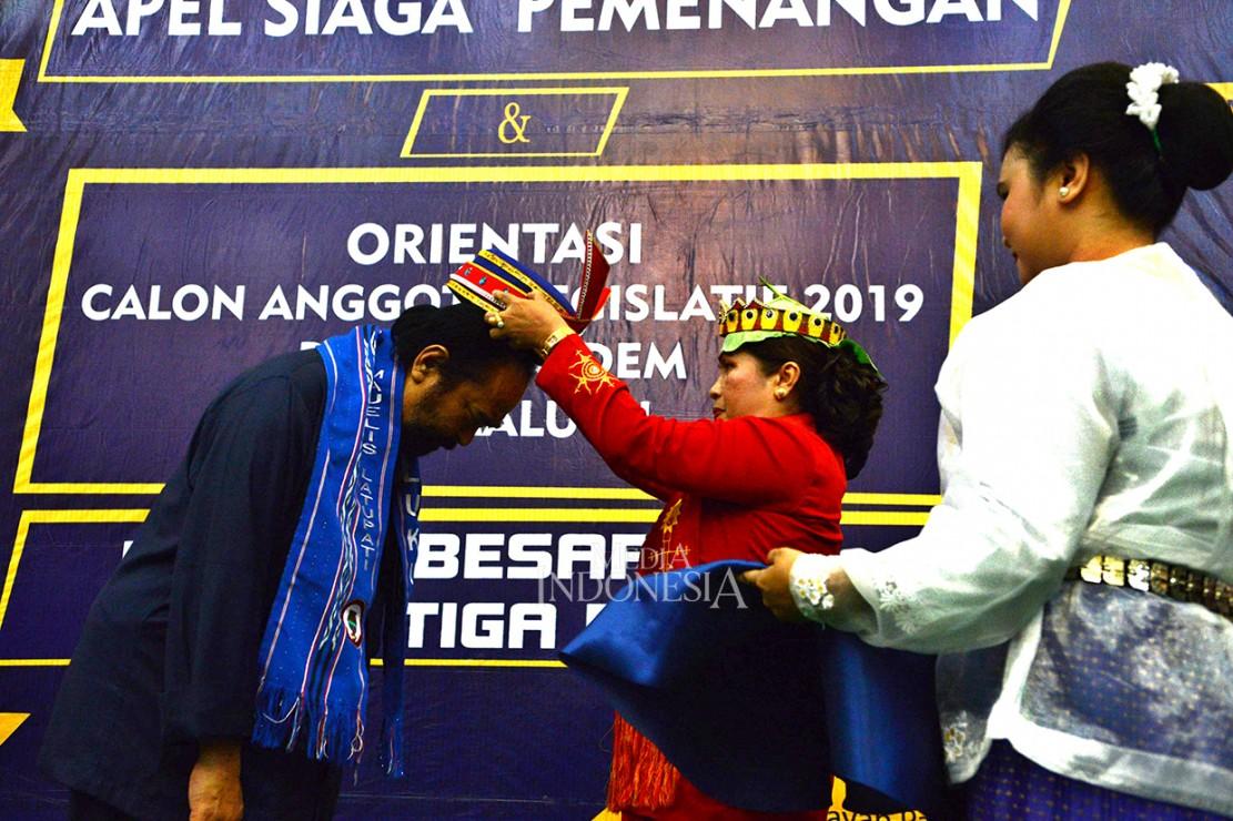 Surya Paloh Dapat Gelar Kehormatan Dari Lalupati Maluku