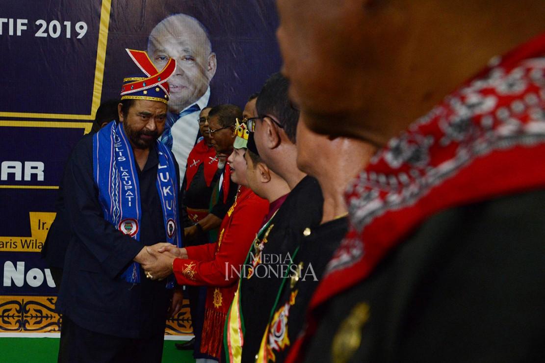 Surya Paloh dianugerahi gelar kehormatan adat
