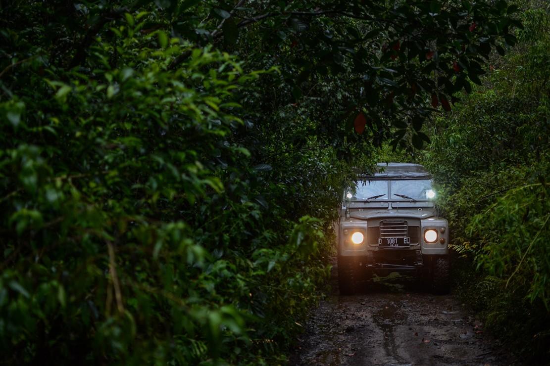 Perjalanan sepanjang trek 18 km yang menawarkan jalur lumpur dan tanjakan terjal tersebut menjadi trek terpanjang menyusuri hutan untuk wisata