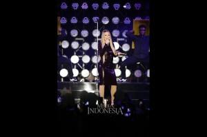 Mariah Carey genap membawakan 18 lagu hits dalam konser berdurasi kurang lebih 90 menit. Lagu-lagu hitsnya antara lain, Fantacy, Fly Away dan Hero sebagai penutup konser tersebut.