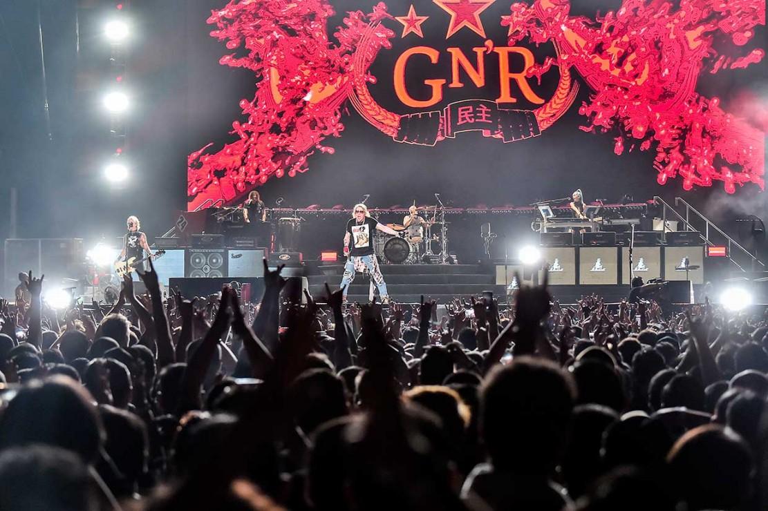 Guns N'Roses Guncang GBK