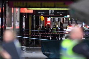 Kelompok Islamic State (IS) atau ISIS mengaku bertanggung jawab atas serangan tersebut. AFP Photo/William West