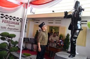 Museum WR Supratman di Jalan Mangga, Tambaksari, Surabaya diresmikan Wali Kota Surabaya Tri Rismaharini tepat pada Hari Pahlawan. Antara Foto/M Risyal Hidayat
