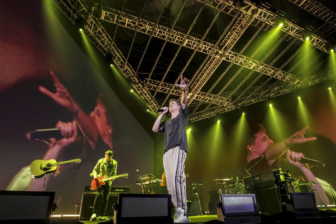 Kemeriahan Konser Charlie Puth di Tangerang