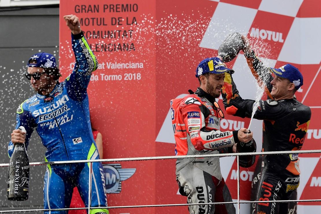 Dovizioso Juara MotoGP Valencia