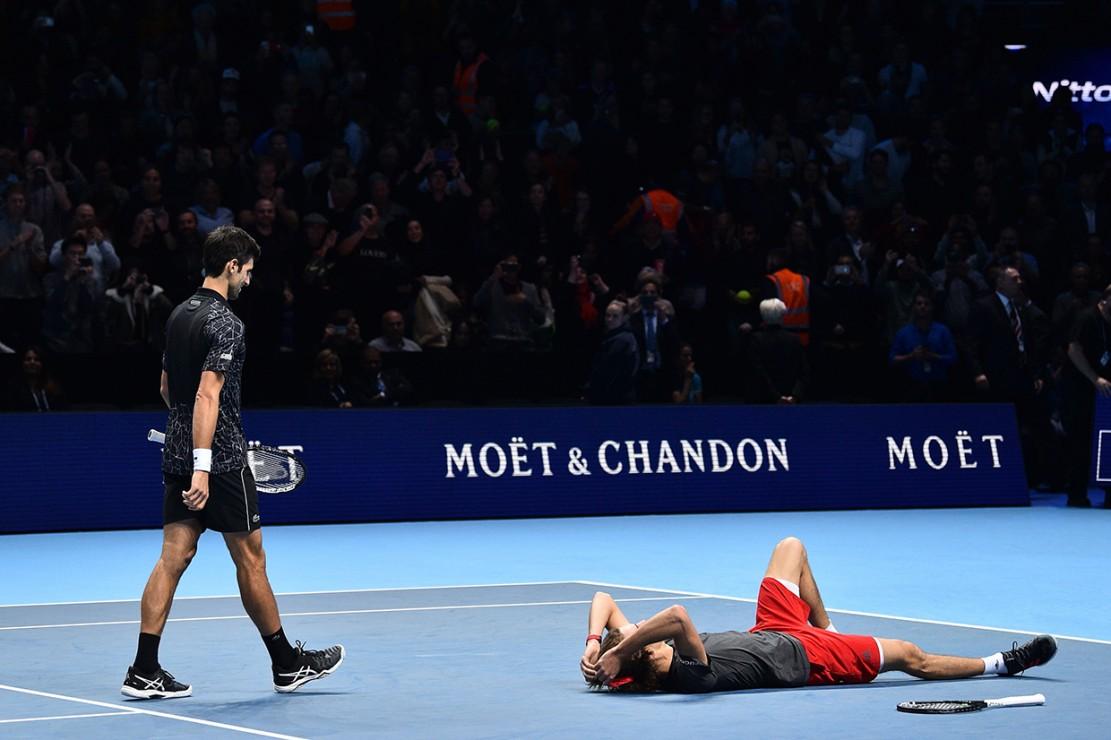 Taklukkan Djokovic, Zverev Jadi Juara Termuda Final ATP