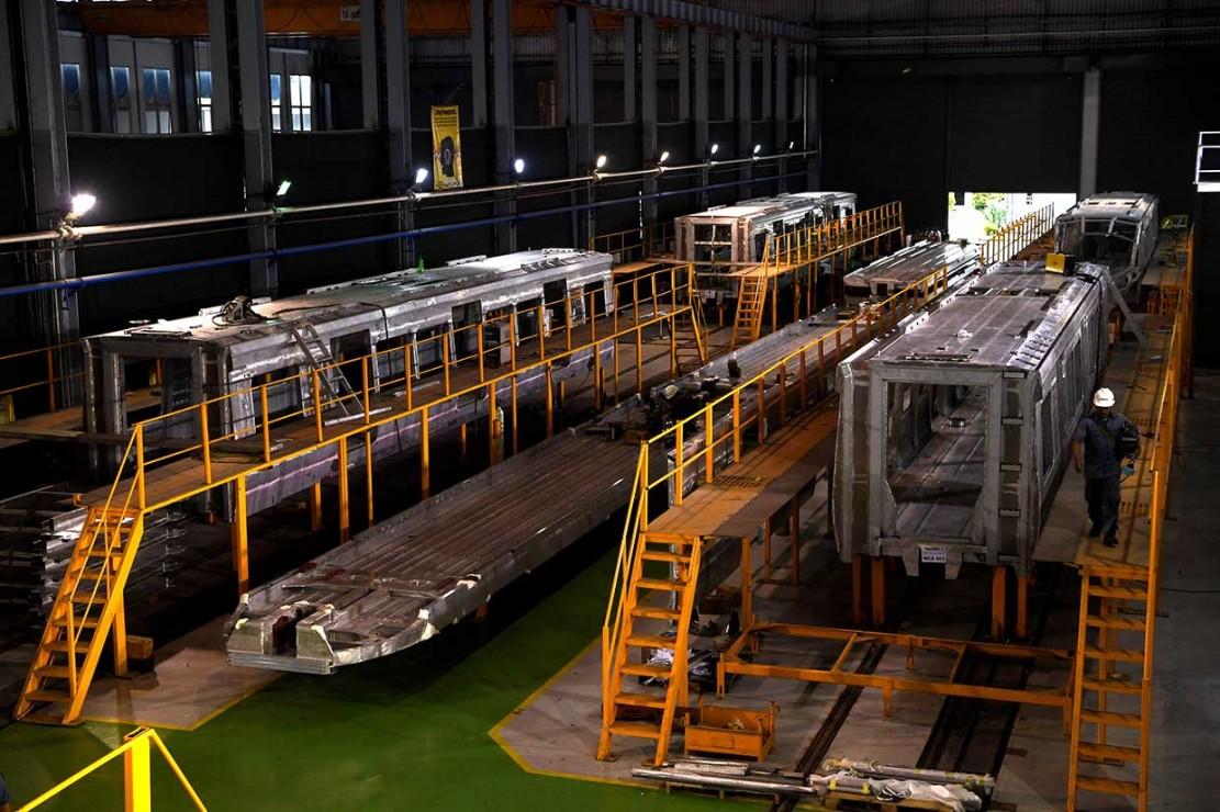 Gerbong Kereta INKA Melaju ke Mancanegara
