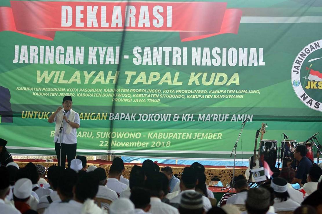 JKSN Tapal Kuda Dukung Jokowi-Ma'ruf Amin