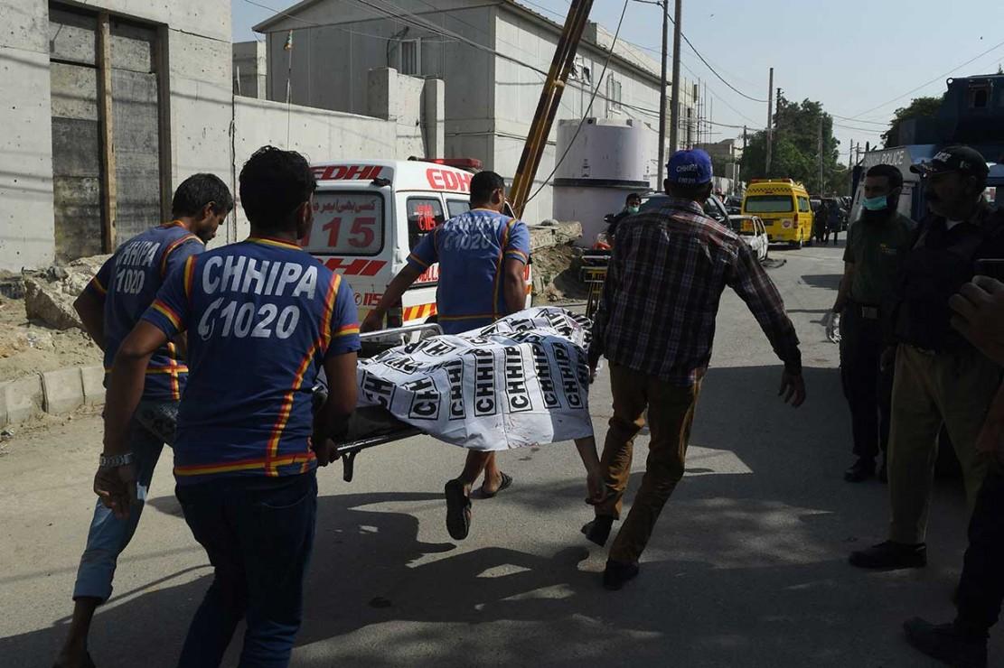 Penyerangan Konsulat Tiongkok di Pakistan Tewaskan 2 Polisi