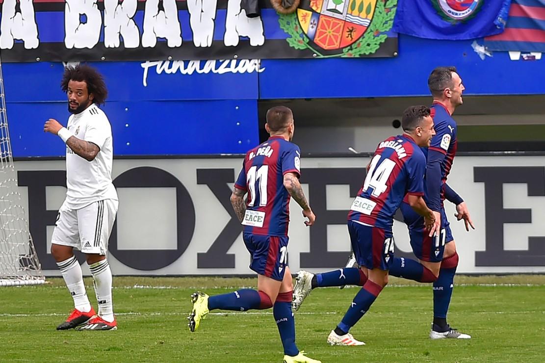 Madrid Takluk 0-3 dari Eibar
