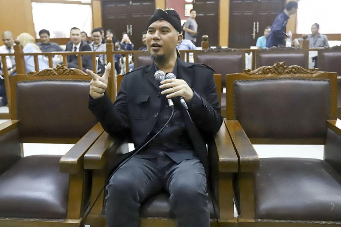 Ahmad Dhani Dituntut 2 Tahun Bui