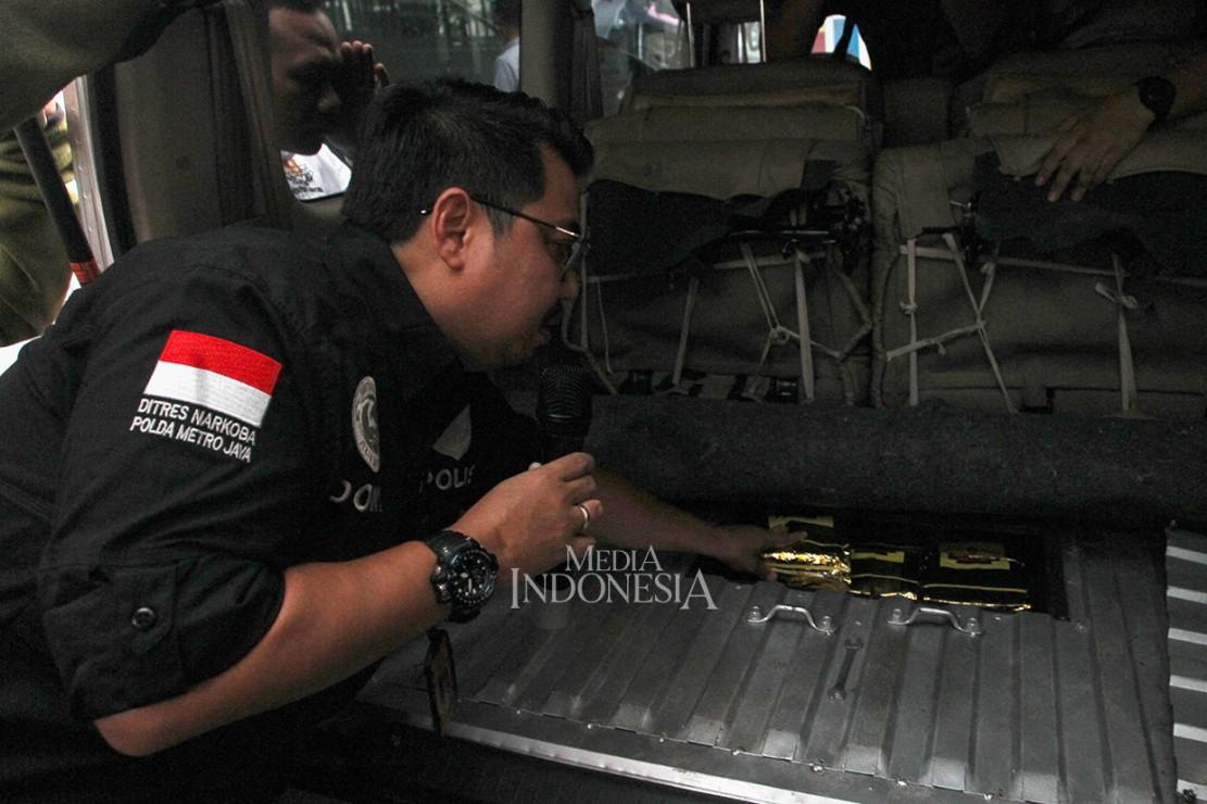 Polda Metro Jaya Gagalkan Peredaran 50 Kg Sabu Jaringan Malaysia