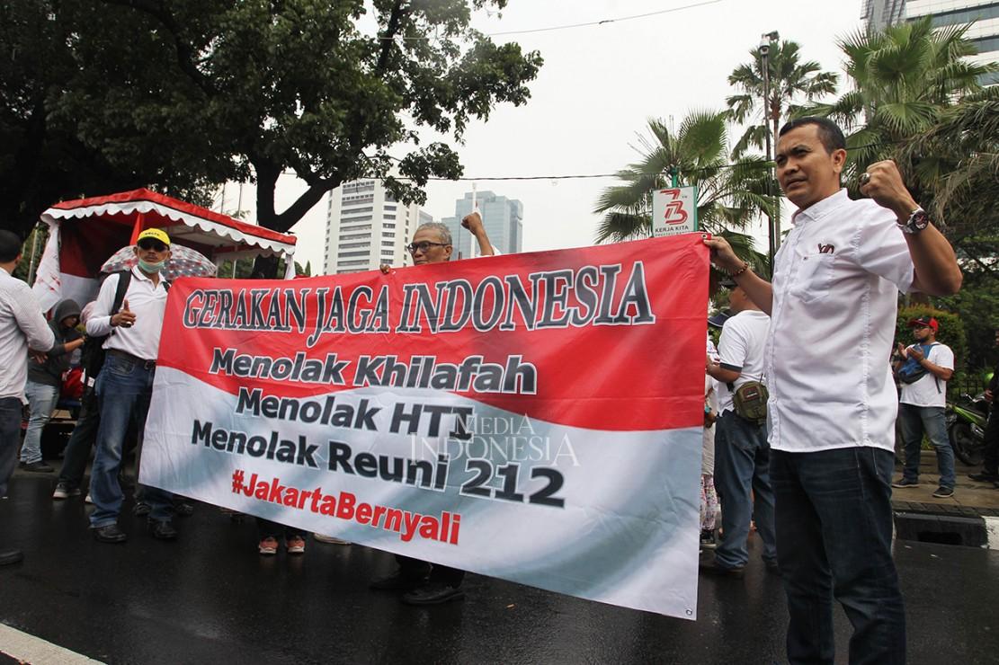 Gerakan Jaga Indonesia Desak Anies Tolak Reuni 212