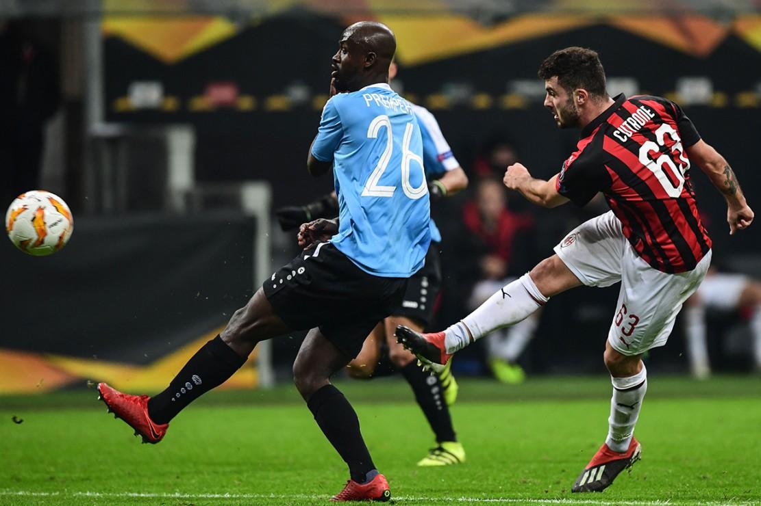 AC Milan Tekuk Dudelange 5-2 di San Siro