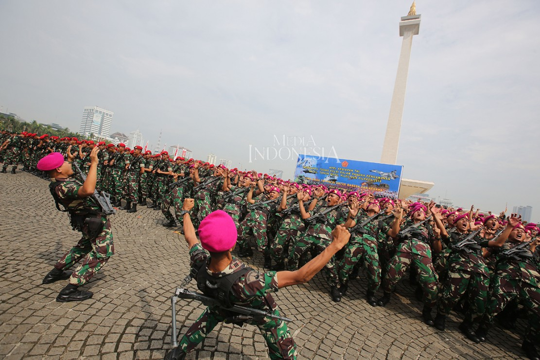 Soliditas TNI-Polri Siap Amankan Pemilu 2019