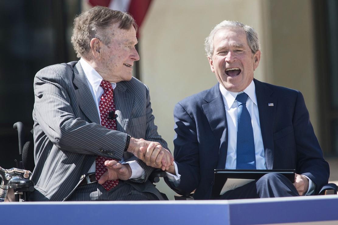 George Bush Senior Meninggal Dunia