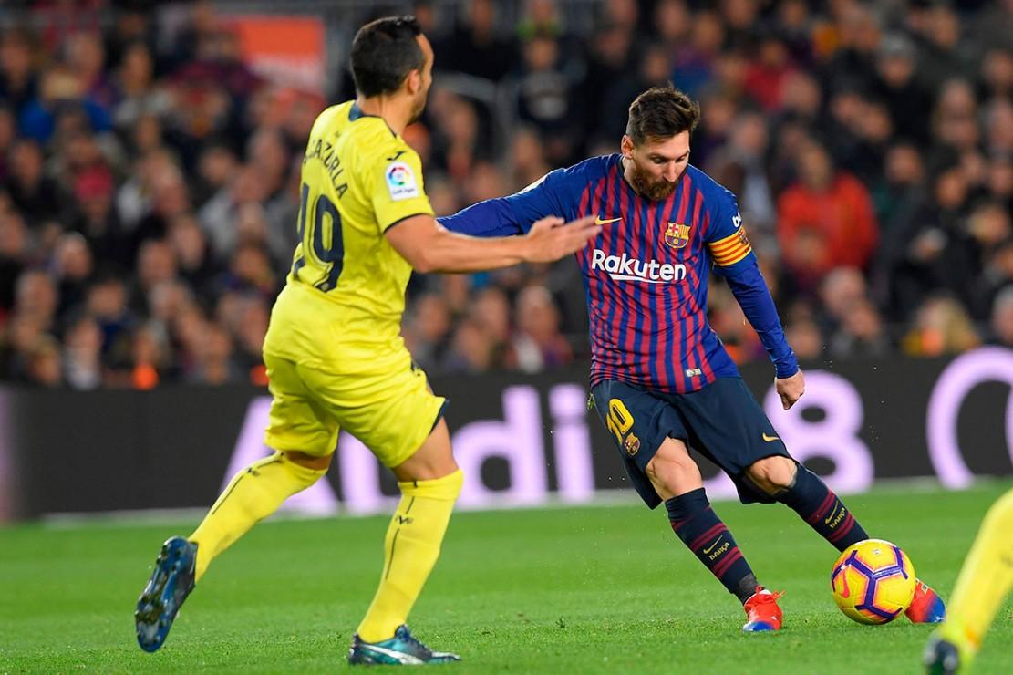 Barcelona Tundukkan Villarreal 2-0