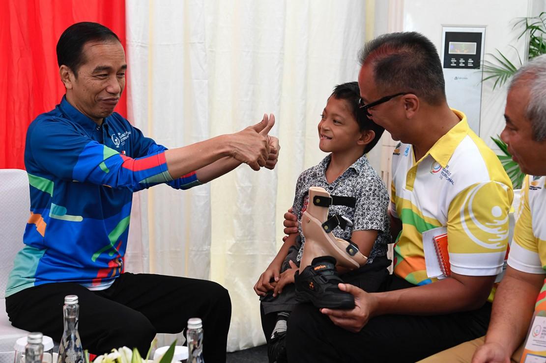 Adul Akhirnya Bertemu Presiden Jokowi