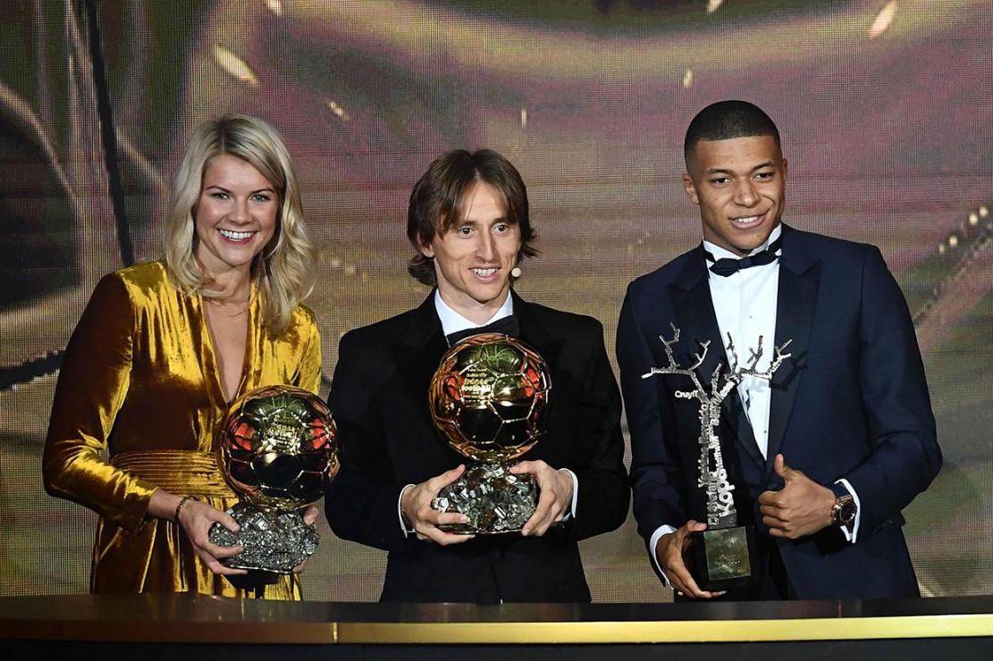 Modric Menangi Gelar Ballon d'Or 2018