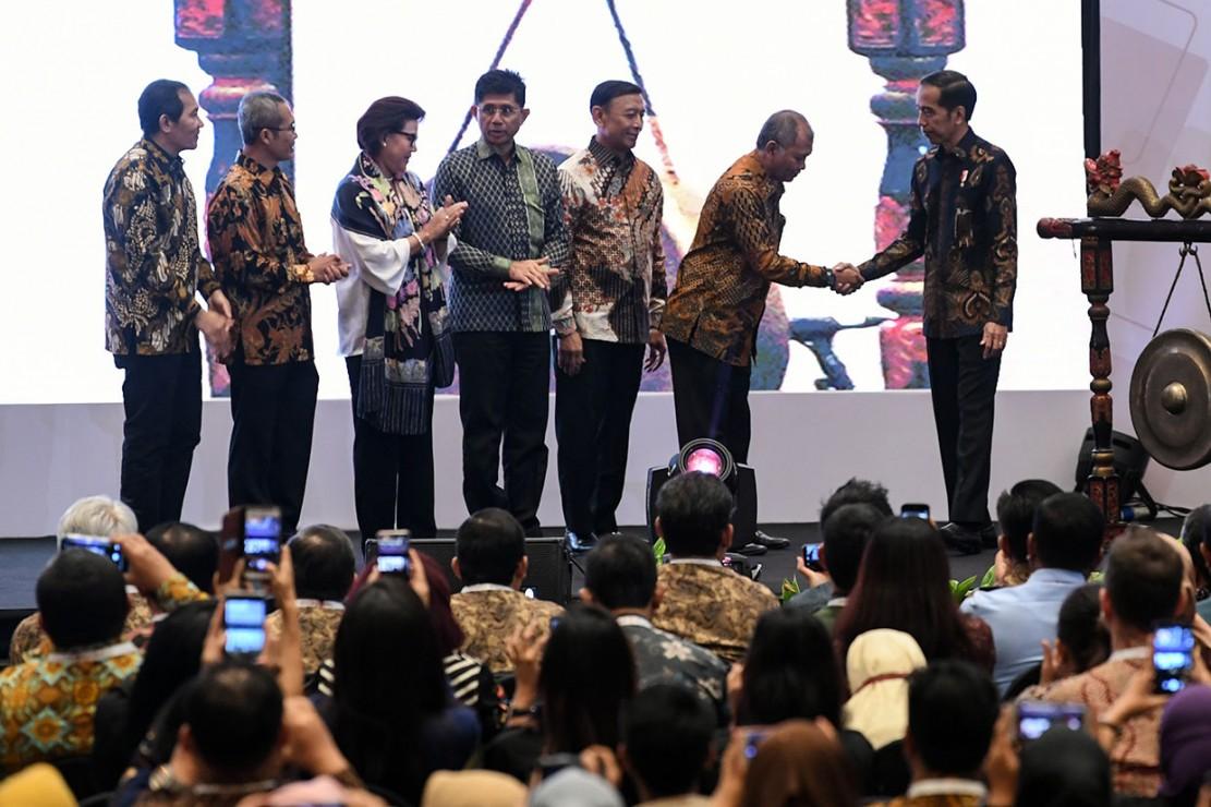 Jokowi: Banyaknya OTT Bukan Keberhasilan Antikorupsi