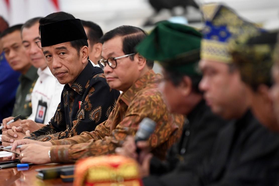 Lembaga Adat Melayu Riau akan Berikan Gelar Kehormatan ke Jokowi